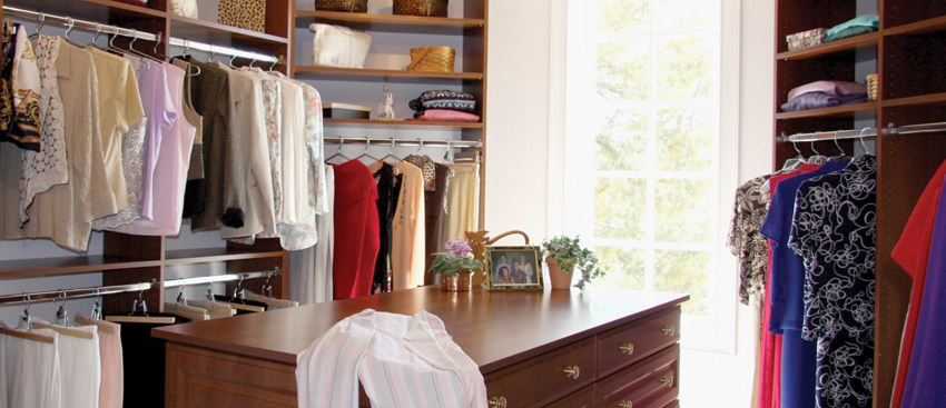 A well thought out storage solution can really make your chores seem easier.