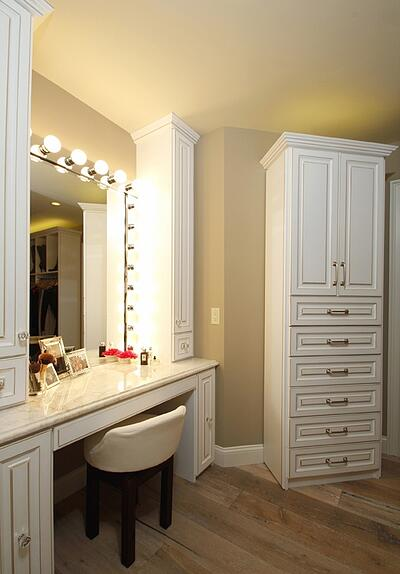 Hollywood-style Vanity