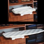 ironing board in a drawer