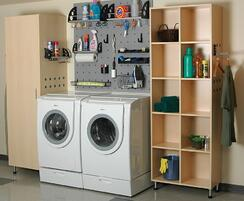 Laundry Garage Area