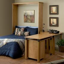 Murphy Bed - Desk Combo Open