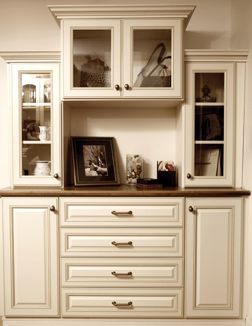 Storage hutch, a great idea from Closets and Cabinetry