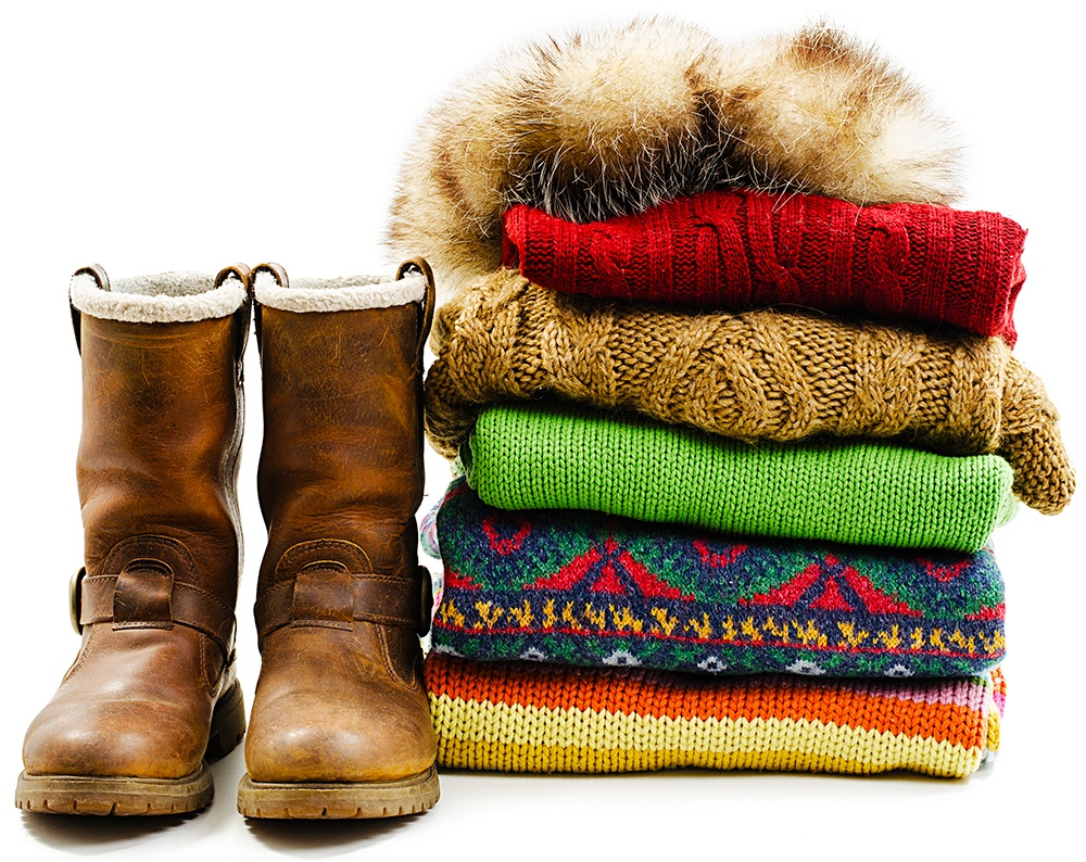 Store winter clothing to make room in your closet for your summer clothes.