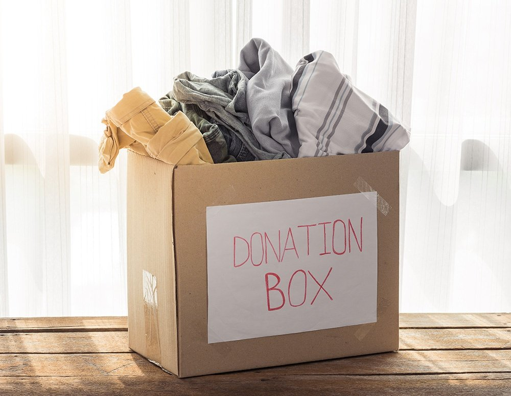 when organizing your basement, start out simple, seperate your stuff into three piles, trash, donate, and sell.